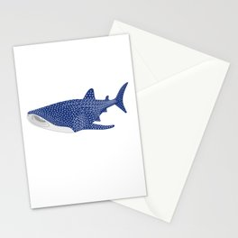 Whale Shark Illustration  Stationery Cards