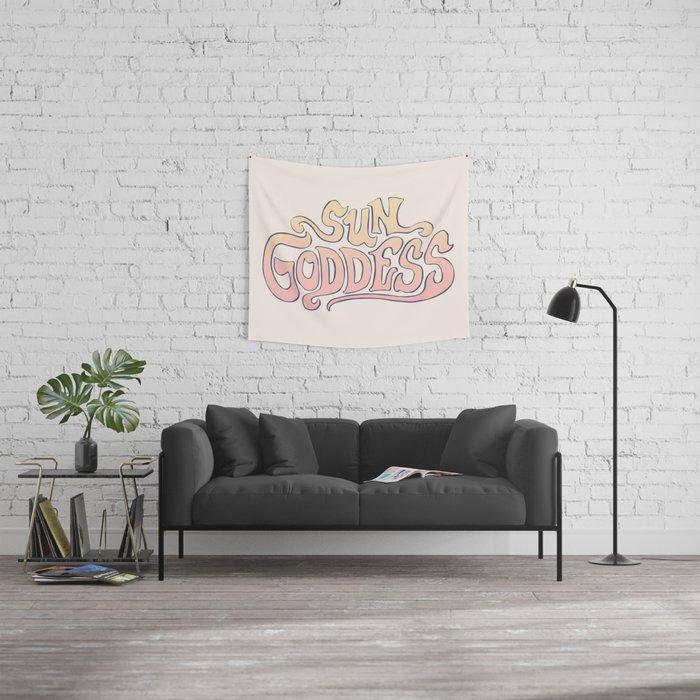 SUN GODDESS Wall Tapestry