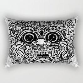 Barong, Balinese mask, Bali mask Rectangular Pillow