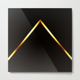 Pyramid of Light Metal Print