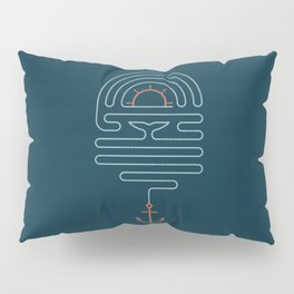 The Tale of the Whale Pillow Sham