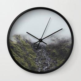 New Zealand I Wall Clock