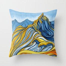 'Candyland Ridge' Throw Pillow