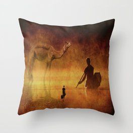 Wayward Crossings Throw Pillow