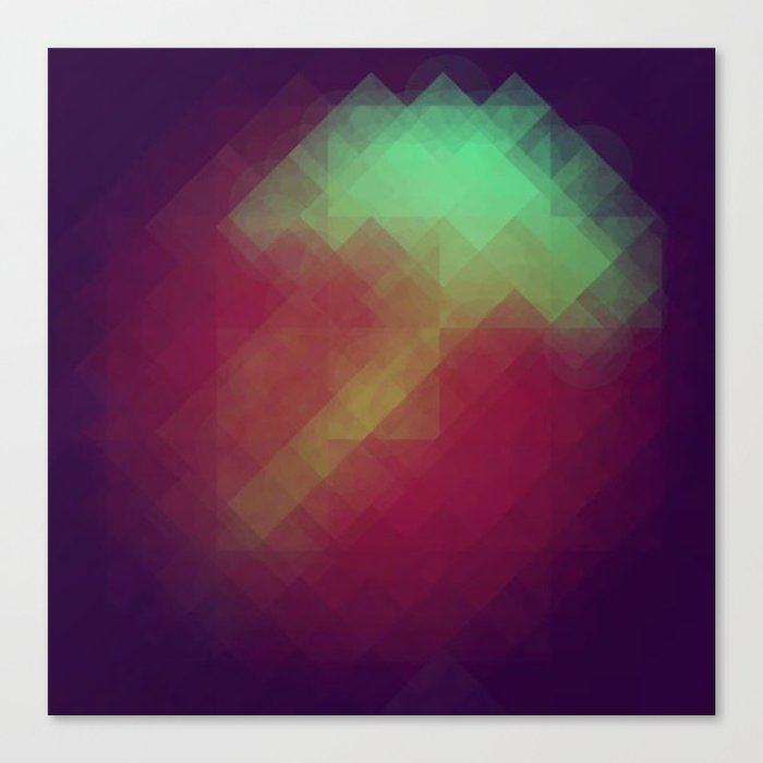 Jelly Pixel Canvas Print