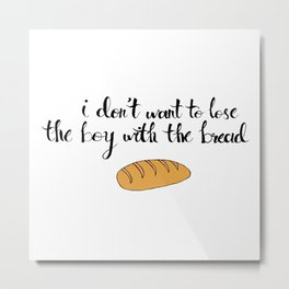 Peeta The Bread Boy Metal Print