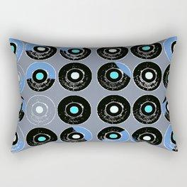 Juke Box 45's Rectangular Pillow