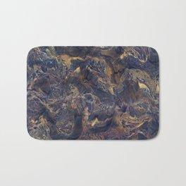 Midnight blue with Desert Sand Bath Mat