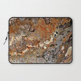 Earth Tones Lava Flow Laptop Sleeve