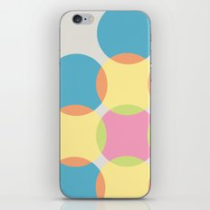 Circles iPhone & iPod Skin