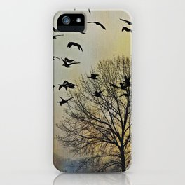 Bird Watching  - JUSTART © iPhone Case