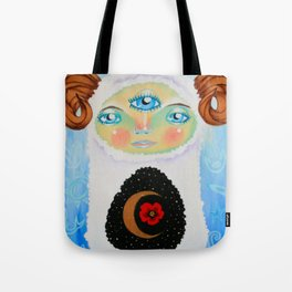 Dreamtime Yeti Tote Bag