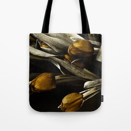 Tulip Bronze Tote Bag