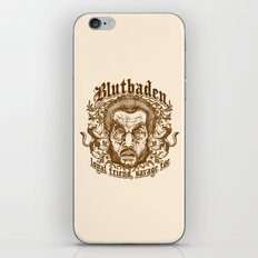 Blutbaden Sepia iPhone & iPod Skin