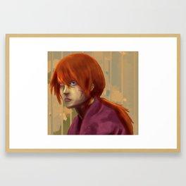 Himura Framed Art Print