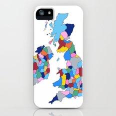 England, Ireland, Scotland & Wales iPhone (5, 5s) Slim Case