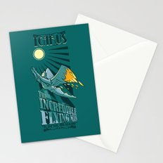Icarus, The Incredible Flying Man Stationery Cards