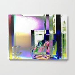 Interior Design Metal Print