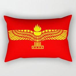 Aramaic Flag Rectangular Pillow