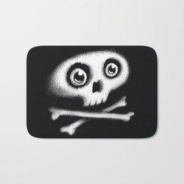 Skull & bones Bath Mat
