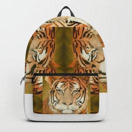 Bengal Tiger Pattern Backpack