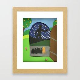 Father Time! Wake!!! Framed Art Print