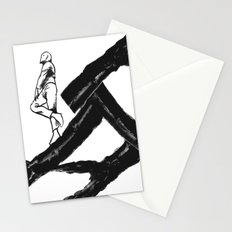 Promenade d'asperges Stationery Cards