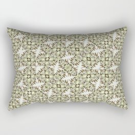 Modern Geometric Check Print Pattern Rectangular Pillow