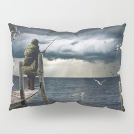 The Fish Are In Pillow Sham