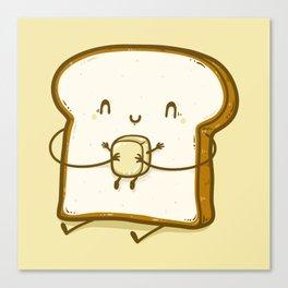 Bread & Butter Canvas Print