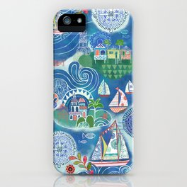 Dream Boats iPhone Case