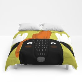 MOOSE HAT Comforters