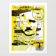 poe-try 4 Art Print