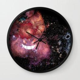 Space Gengar Wall Clock