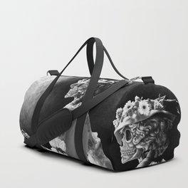 Lady Skeleton Duffle Bag