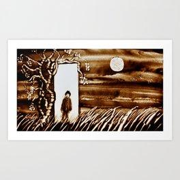 Door for Parallel Universe Art Print