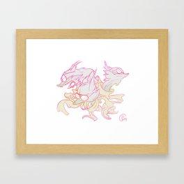 TriFoxx Framed Art Print