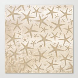 Star spangled Canvas Print