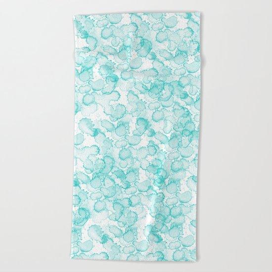 Abstract X Beach Towel