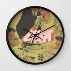 Debt Bondage Wall Clock