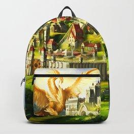 Golden Dragon Backpack