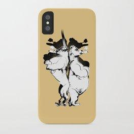 The Bull & Bear iPhone Case