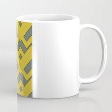 zig zag mustard Coffee Mug