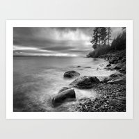 west coast Art Prints featuring West Coast by John Mattatall