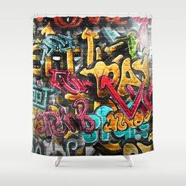 Grafiti 3 Shower Curtain