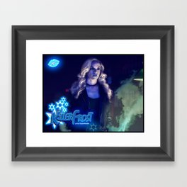 XSuperModels-TheQueenOfCentralCity Framed Art Print