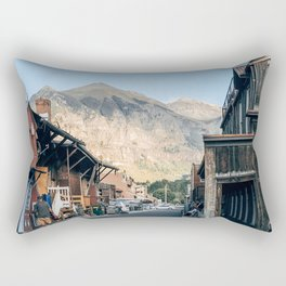 Street Photo Rectangular Pillow