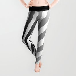 Illusion lines - Zebra Leggings