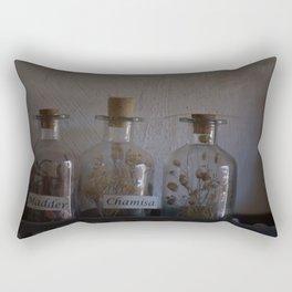 Bottles Rectangular Pillow
