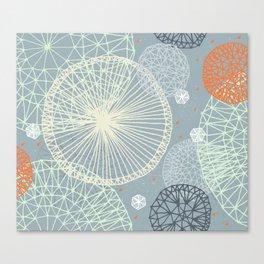 Geodesic by Friztin Canvas Print